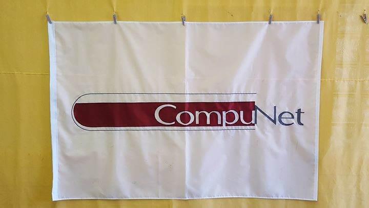 Custom sewn flag #OhioMade Thank you CompuNet Clinical ...