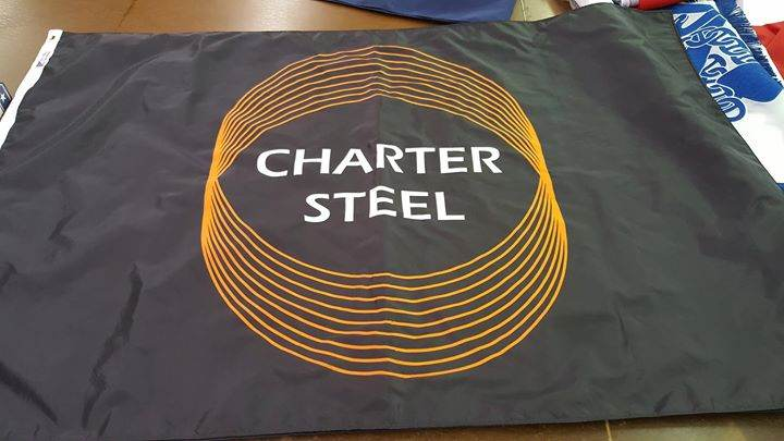 Thank you Charter Manufacturing for another custom flag...