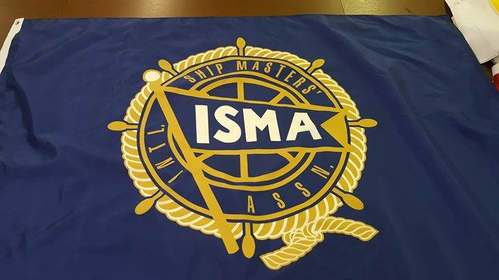 Here's another flag heading to International Ship Maste...