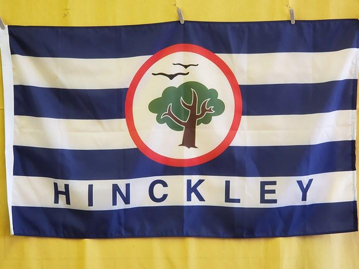 Custom flag heading to Hinckley Township, Ohio #ohiomad...