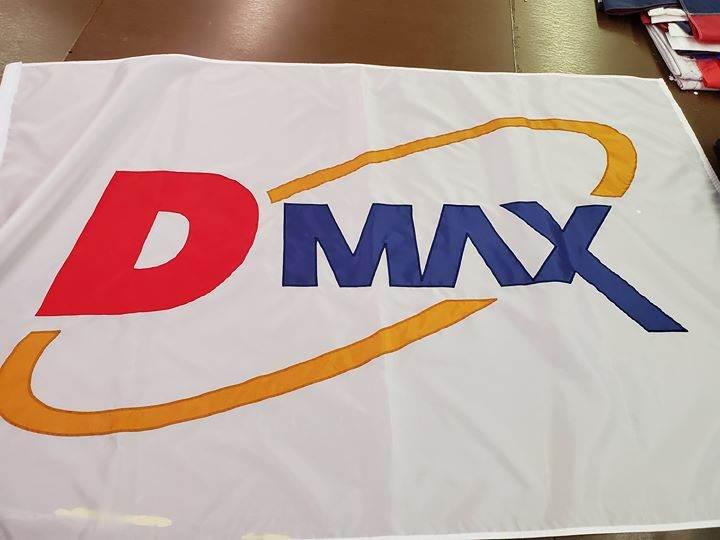 D MAX  custom sewn flag.  #ohiomade #usamade